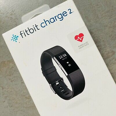 $ CDN56.25 • Buy NEW In BOX Fitbit Charge 2 Size LARGE Colour Black RP £90