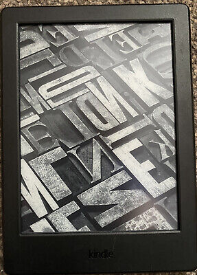 £26.30 • Buy Kindle Reader 4GB 8th Generation Wifi Black Boxed And Lovely Condition