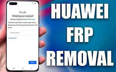 £14.99 • Buy Fast Huawei Frp Unlock /removal Service Of Personal Google Account By Imei Or Sn