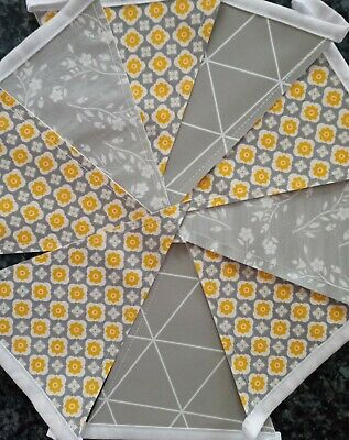 £7.99 • Buy ☀️🌻handmade 6ft Double Sided Oilcloth/pvc Bunting Indoors Garden 🌻☀️