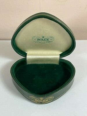 $ CDN34.09 • Buy Rolex Ladies Cocktail Watch Box - Vintage 1950's Clamshell Heart