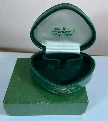$ CDN281.26 • Buy Rolex Ladies Cocktail Watch Box - Vintage 1950's Clamshell Heart & Outer Set