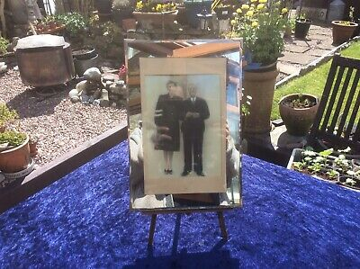 £18 • Buy Vintage 1940s Mirrored Picture Frame