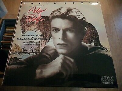 £27 • Buy David Bowie Peter And The Wolf Red Seal Original First Issue  Immaculate...