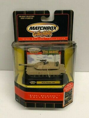 $20 • Buy 2000 Matchbox Collectibles Steel Soldiers M1A1 ABRAMS TANK Diecast 92654