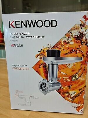 £65 • Buy Kenwood KAX95OME Food Mincer Attachment + Adaptor Plate