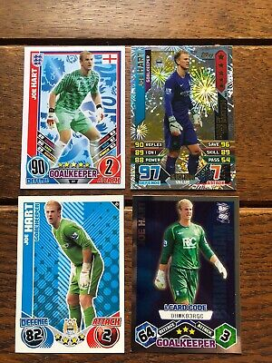 £1.50 • Buy Match Attax Joe Hart Bundle