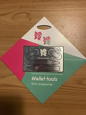 £20.12 • Buy London 2012 Olympics. Wallet Tools Shirt Accessories. Official Merchandise