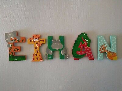 £4.99 • Buy Wooden Animal Letters