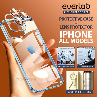 AU7.80 • Buy Shockproof Case Crystal Clear Lens Protector IPhone 13 12 Mini 11 Pro Max X XR 8