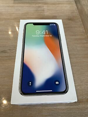AU499 • Buy Apple IPhone X - 256GB - Silver (Great Condition) Batt Recently Replaced.