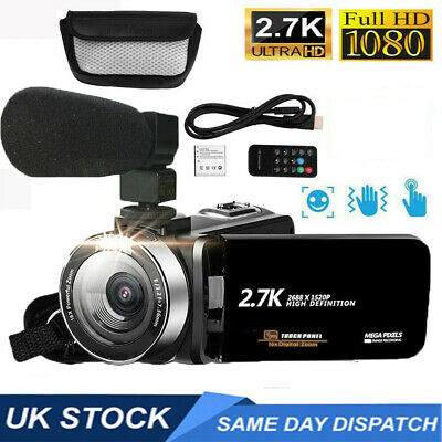 £35.98 • Buy 1080P Digital Camera Video 16X ZOOM 30MP DV Camcorder Recorder With Microphone