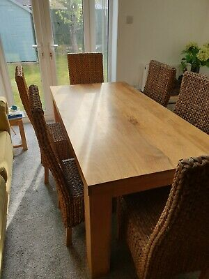 £350 • Buy Solid Mango Wood Dining Table.