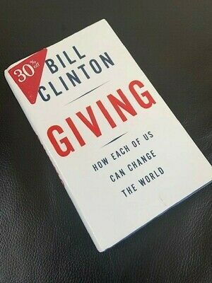 AU162.17 • Buy Signed FIRST EDITION Bill Clinton Book GIVING