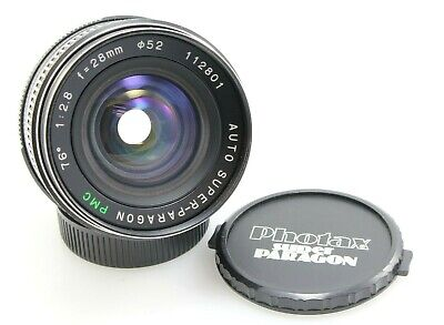 $41.40 • Buy Auto Super Paragon PMC 28mm, F/2.8 Wide Angle Lens, M42 Mount
