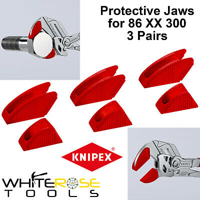 £13.35 • Buy Knipex Protective Jaw Covers Optimised Pliers Wrench 3 Pairs 300mm 86 09 300 V01