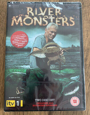 £24.99 • Buy RIVER MONSTERS COMPLETE SERIES 1 DVD 1st First Season One Original UK Release R2