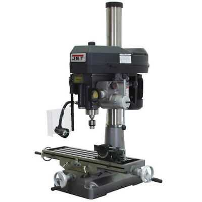 $6999 • Buy JET 350129 Mill Drill + NEWALL DP700 DRO + X-Axis Table Powerfeed New