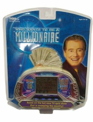 £21.86 • Buy Who Wants To Be A Millionaire - Handheld Electronic Game - New Factory Sealed