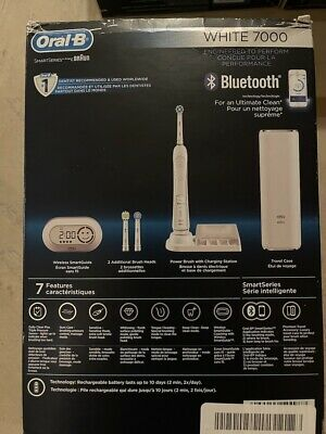 AU117.17 • Buy Oral-B 7000 SmartSeries Rechargeable Electric Toothbrush With Bluetooth Connecti