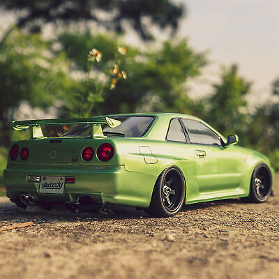 £57.90 • Buy 1/10 RC Racing Car Finished Shell 257mm NISSAN SKYLINE (R34) RC Body Shell Frame