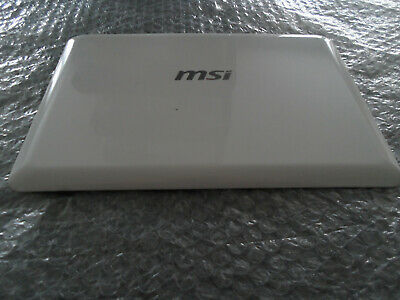 £4.95 • Buy MSI U135 White Lid With Webcam & Cables FAST POST