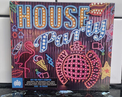 £4.50 • Buy Sealed Ministry Of Sound - House Party - Chic Gloria Gaynor Shalamar - 3 Cds New