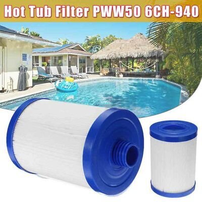 £18.50 • Buy 50ft²  Threaded Base Spa Filters (Replaces:6CH-940, PWW 50, FC-0359)  UK