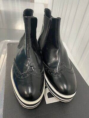 £20 • Buy Dune Womens Ankle Flatform Boots, Black, Size UK3, Good Condition