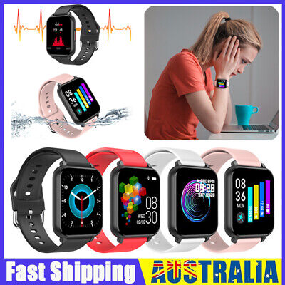 AU34.58 • Buy Smart Watch Band Sport Activity Fitness Tracker For Kids Fit For Android IOS