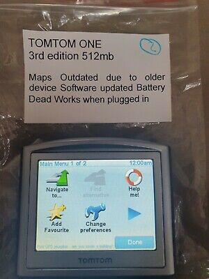 £10 • Buy Tomtom  One 3 Rd Edition