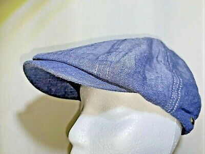 £6.95 • Buy Brixton Hooligan Hat Newsboy Cap Leather Strap One Size Fits All New