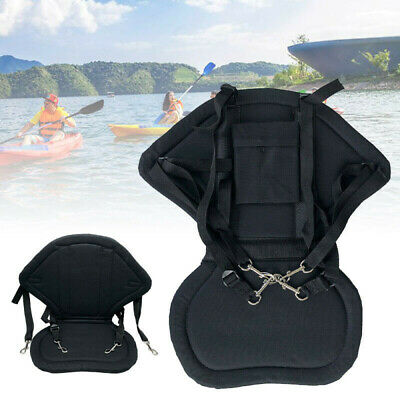 £16.99 • Buy Deluxe Kayak Seat Adjustable Sit On Top Canoe Back Rest Support Cushion Safety