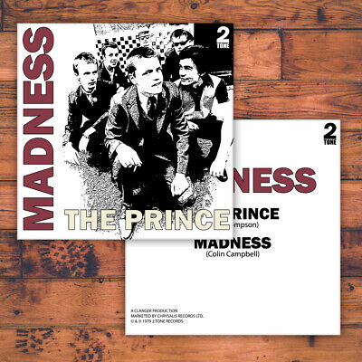 £3.29 • Buy Madness - The Prince - Replacement Picture Sleeve For Uk 7  - Two Tone