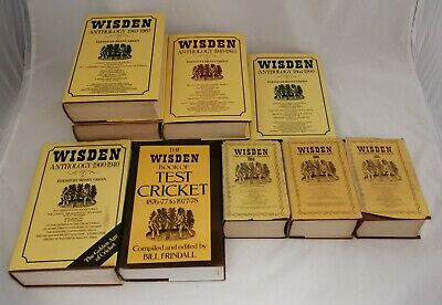£2.99 • Buy Wisden Cricket Books Including Anthology And Almanac - Great Selection