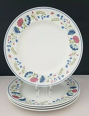 £18 • Buy BHS ~ British Home Stores Priory 4 × Dinner Plates In Excellent Used Condition