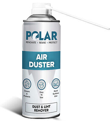 £9.99 • Buy Polar S1 Superior Air Duster Spray Gas Cleaner Compressed Dust Blower Easy Clean