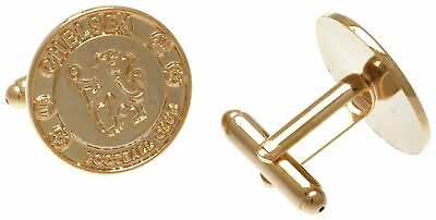£22.99 • Buy Gold Plated Official Chelsea FC Cufflinks Gift Boxed