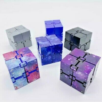 £0.99 • Buy  Infinity Cube Stress Fidget Toys Game Autism Anxiety Relief Kids Adult