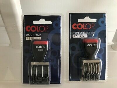 £10 • Buy Colop Date Stamp 04000 & Number Stamp 04006 Brand New