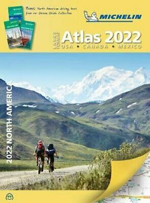 £11.84 • Buy Michelin North America Large Format Road Atlas 2022 USA - Canad... 9782067250185