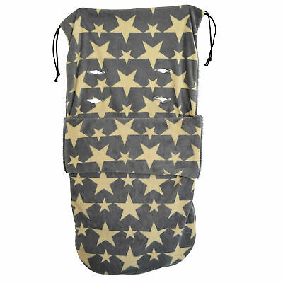 £18.99 • Buy Snuggle  Buggy Footmuff Compatible With Buggy Puschair Baby Star Designs