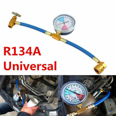£10.89 • Buy NEW CaAC R134A Refrigerant Charging Hose Low Pressure Gauge For Home Car Air Con