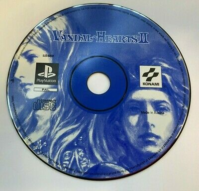 £29.99 • Buy VANDAL HEARTS II 2 PlayStation One PS1 Disc Only!