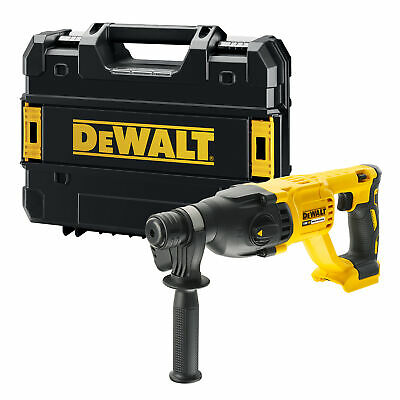 View Details Dewalt DCH133NT 18V XR Brushless SDS+ Drill - Body With Case • 119.99£