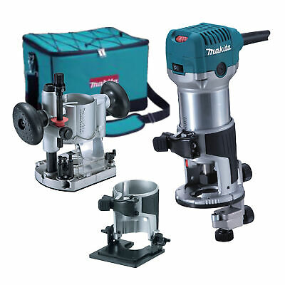 £275.99 • Buy Makita RT0700CX2 1/4'' Router/Trimmer Kit 240 Volts