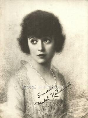 $75 • Buy Mack Sennett Squeeze Mabel Normand Oversize Vintage Silent Comedy Fan Photo #1