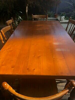 AU100 • Buy Solid Timber Dining Table & 8 Chairs