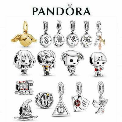 £10.99 • Buy New Genuine Pandora Harry Potter Charm S925 ALE Sterling Silver & With Gift Box