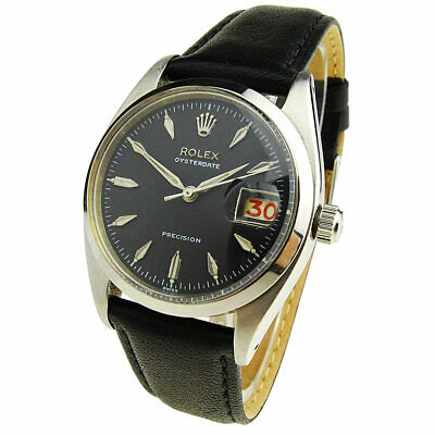 $ CDN5279.88 • Buy Rolex Oysterdate Precision Vintage Stainless Steel Automatic Wristwatch 6494